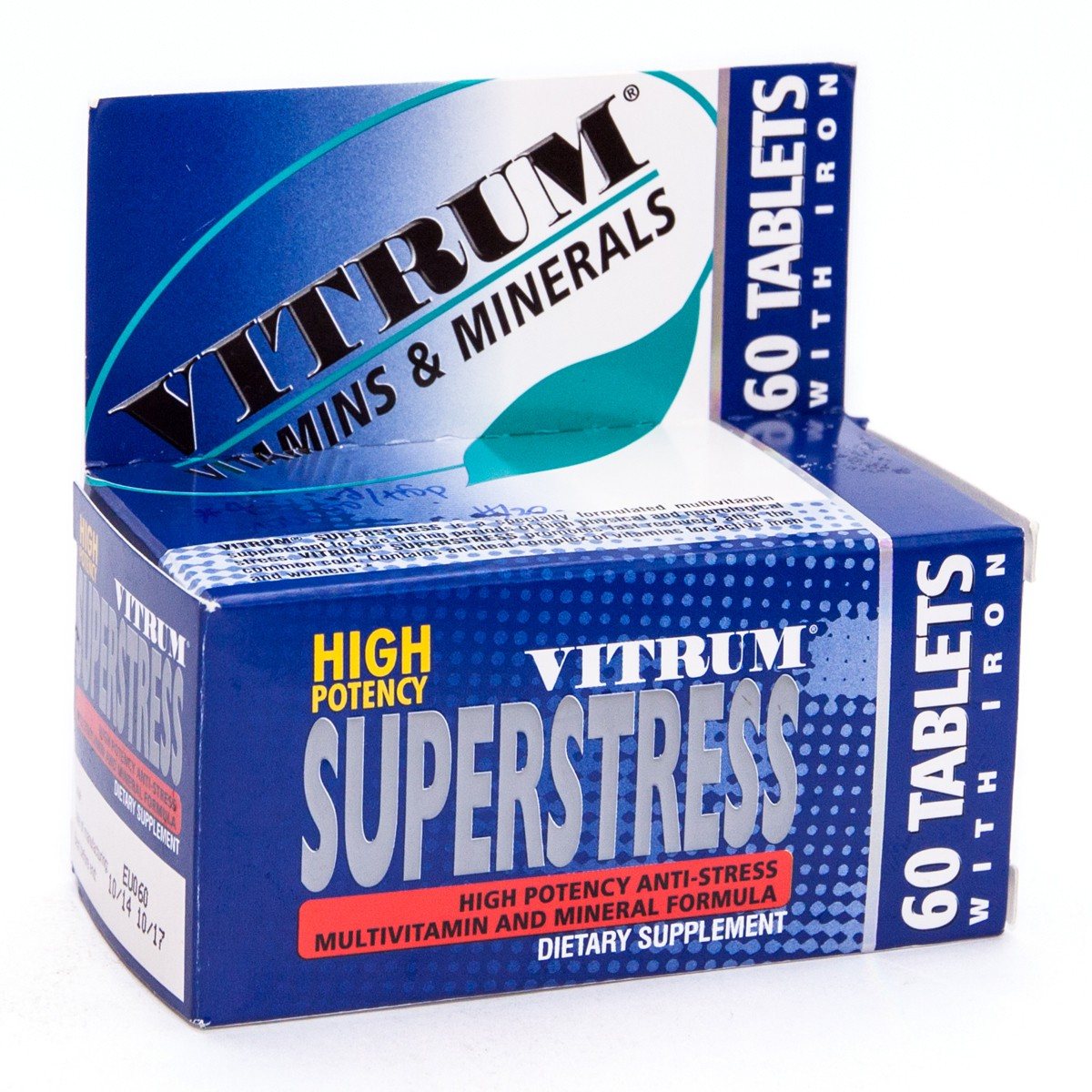 Vitrum SuperStress Vitamins: instructions for use, composition, analogues, side effects, reviews 34